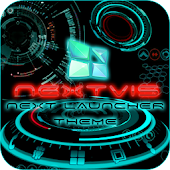Next Launcher theme 3d free