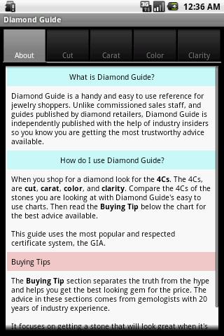 Diamond Guide