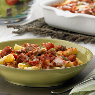 Sausage and Basil Baked Ziti