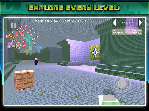 無料动作Appのミュータントブロック忍者ゲーム|記事Game