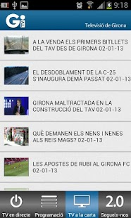 TV Girona - screenshot thumbnail