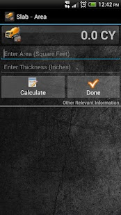 ConCalc - Concrete Calculator - screenshot thumbnail