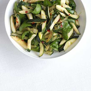 Zingy Courgette & Spinach Salad Recipe
