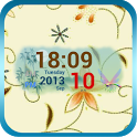 Autumn Digital Clock Widget icon