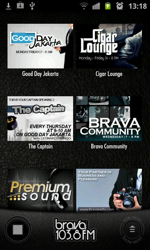 Brava Radio - screenshot