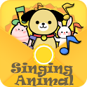 Singing Animal kids song icon