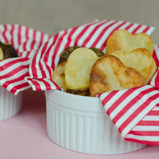 Heart Shaped Oven Fries