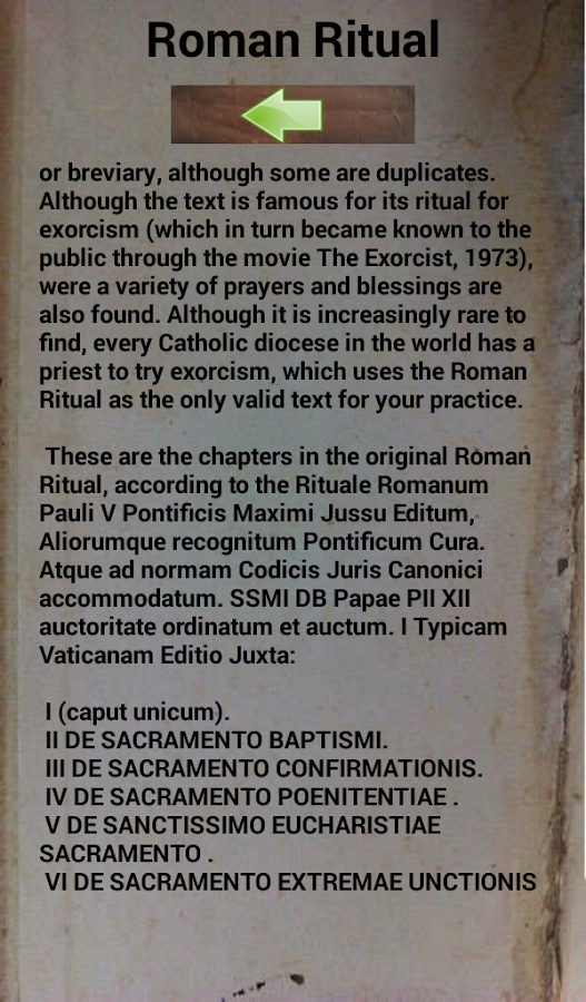 Exorcism Prayer Latin