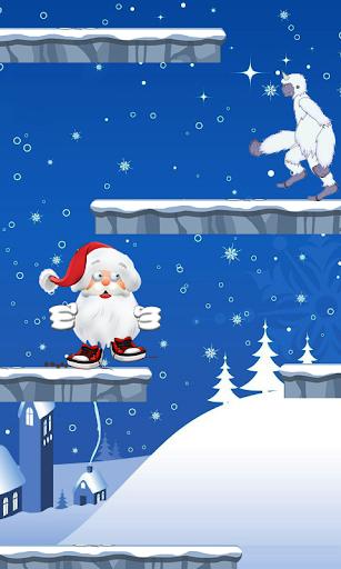 圣诞老人掉下来