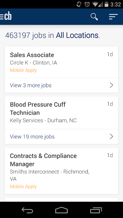 Jobs by CareerBuilder- screenshot