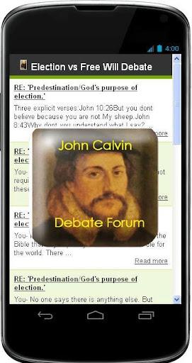 Debate Calvin Theology
