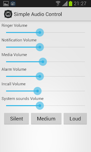 Simple Audio Control