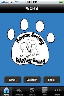 Whitley County Humane Society- screenshot thumbnail