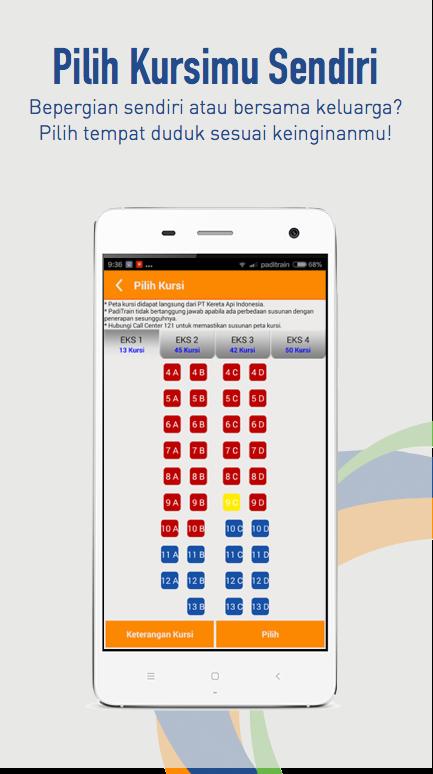 TIKET KERETA API - PADICITI- screenshot