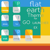 Flat Earth Theme GO Launch. Ex