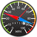 Speedometer / Compass icon