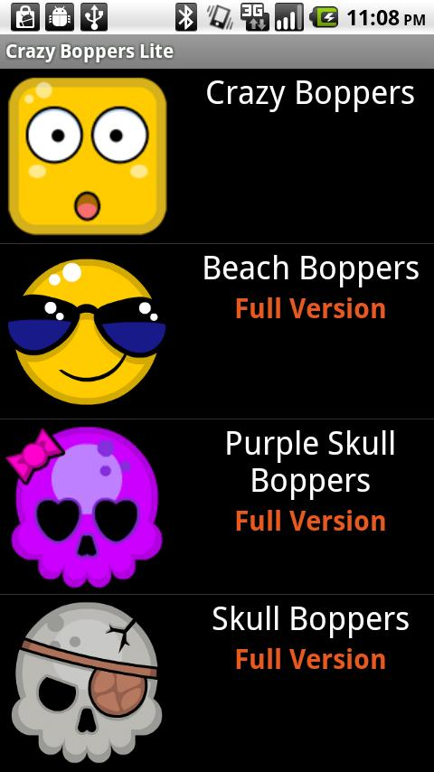 Crazy Boppers Lite LWP - screenshot
