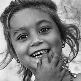 by Dana Corina Popescu - Black & White Portraits & People