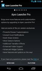 Apex Launcher Pro 2.0.5 apk
