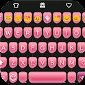 Pink Type Writer Keyboard Skin icon