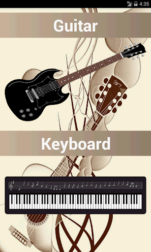 Scales Chords: Guitar Piano