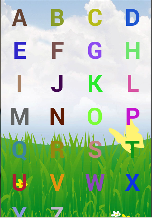Alphabet For Kids Interactive - screenshot