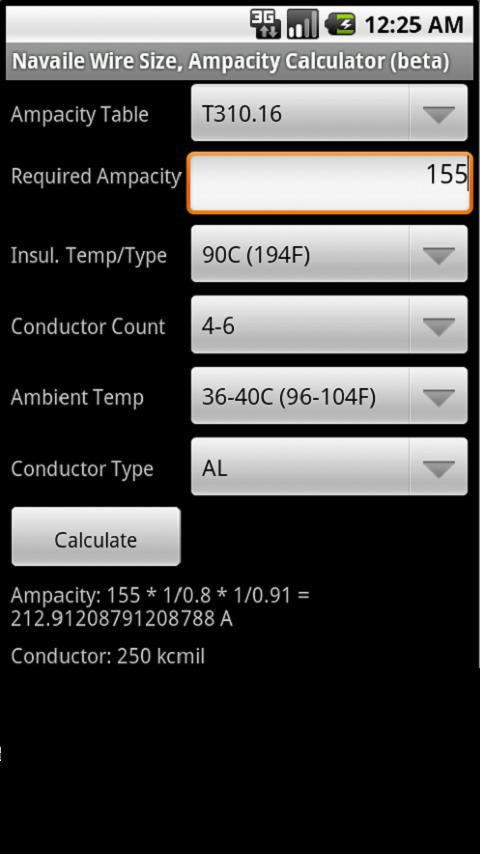 Electrical calculator android apps on google play electrical calculator screenshot greentooth Gallery