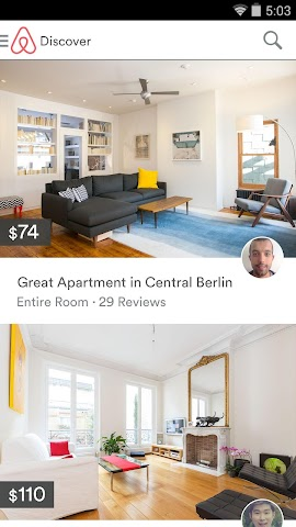 android Airbnb Screenshot 9