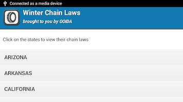 Screenshot of Winter Chain Laws
