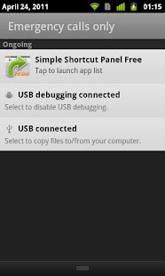 Simple Shortcut Panel Free - screenshot thumbnail