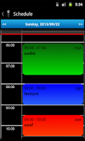 Screenshot of Schedule Voice Recorder