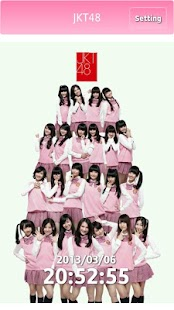 JKT48 Clock - screenshot thumbnail