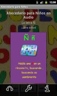 Abecedario para Niños en Audio - screenshot thumbnail