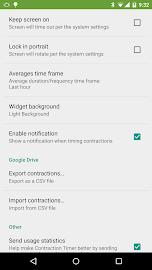 Contraction Timer Screenshot 6