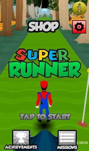 Super Runner Bros 3D HD Free