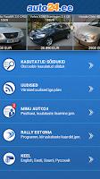 Screenshot of Auto24.ee