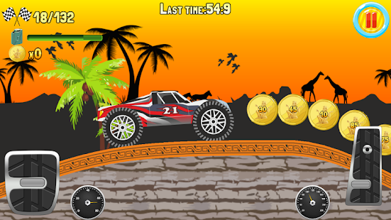 Hill Climb Truck Race screenshot 1