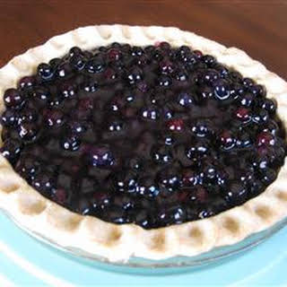 Five-Minute Blueberry Pie.