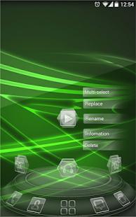 [Next launcher theme BlackGlass] Screenshot 4