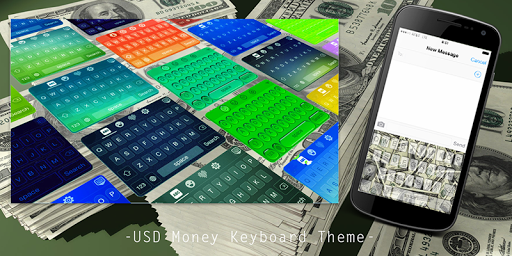 USD Money Keyboard Theme