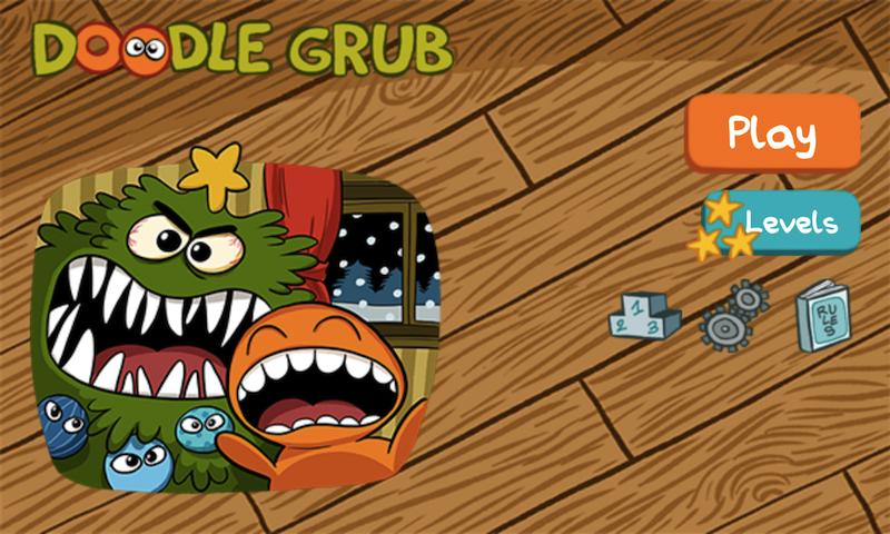 Doodle Grub Christmas Edition - screenshot