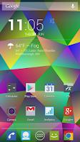 Screenshot of Nexus Triangles LWP