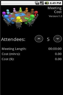 Meeting Cost - screenshot thumbnail