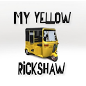 My Yellow Rickshaw logo