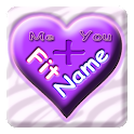 FitName Love Calculator logo