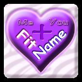 FitName Love Calculator