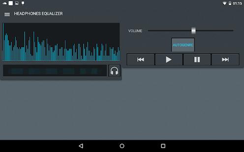 Headphones Equalizer Screenshot