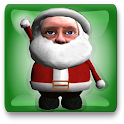 Santa Face Live Wallpaper icon