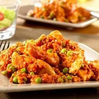 Chicken with Peas and Quinoa.