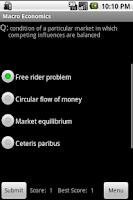 Screenshot of 400 Economic Flashcards & Quiz
